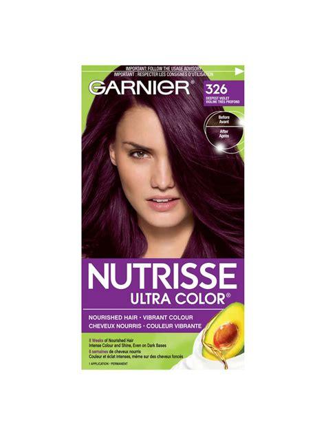 326 Deepest Violet | Garnier Nutrisse Ultra Color