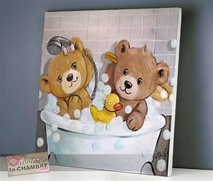 Tableau Pour Salle De Bain : tableau ourson salle de bain 53 vente tableau ourson pour enfants decore ta chambre ~ Dallasstarsshop.com Idées de Décoration