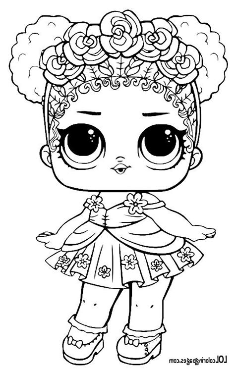 coloring pages  jlp flower child series  lol