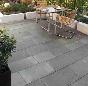 Beton Fliesen Terrasse : beton terrassenplatten granit granulat ~ Michelbontemps.com Haus und Dekorationen