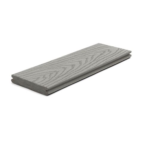 trex select decking home depot trex 12 ft select composite capped grooved decking