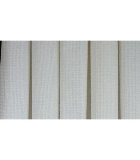 rideaux de en tissu blanc cr 232 me nid d abeille 180 x 200cm