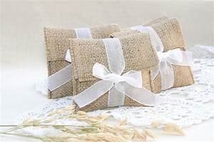 burlap favor bags rustic favor bags wedding favors bags With wedding favor gift bags