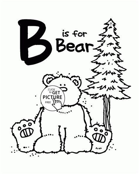 Alphabet S Free Words For Ea3a4 Coloring Pages Printable Letter B Alphabet Coloring Pages For Letter B