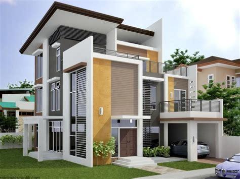 model rumah mewah masa kini desain gambar foto tipe