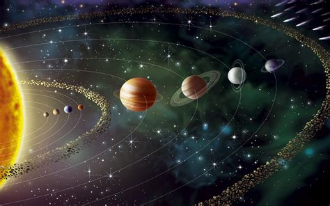 solar system  planets mercury venus earth mars