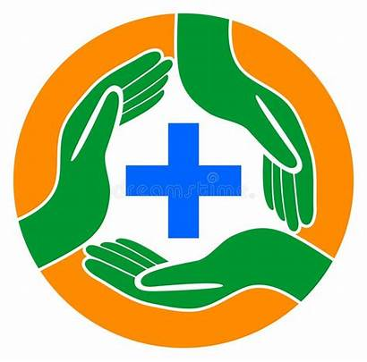 Care Medical Hands Around Rond Mani Intorno