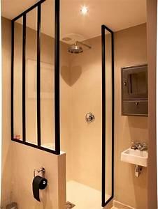 Paroi Salle De Bain : verri re en paroi de douche d co salle de bain ~ Premium-room.com Idées de Décoration