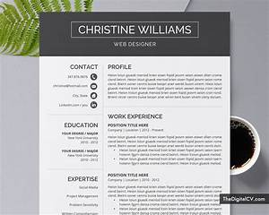 Cv Template For Professionals Cv Template Resume Template Professional Cv Template