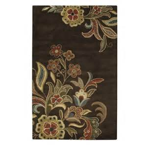 home decorators collection tara chocolate 9 ft x 12 ft