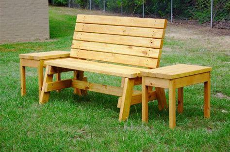 diy garden bench plans   love  build home