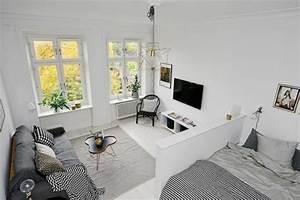 revgercom deco dun petit studio idee inspirante pour With comment meubler un petit studio 2 location etudiant amenagement du studio et deco pas
