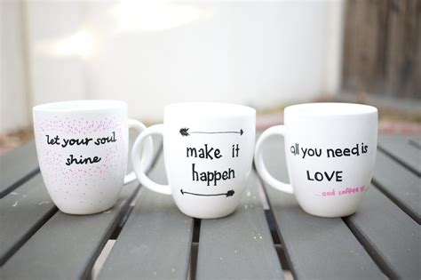 quote stenciled sharpie mugs pictures   images