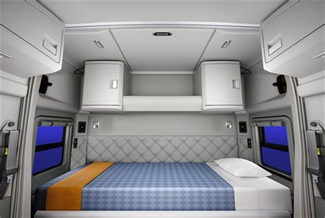 sleeper interior view new 52 inch mid roof sleeper for kenworth t680 now