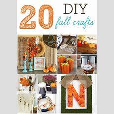 20 Diy Fall Craft Projects  Six Sisters' Stuff