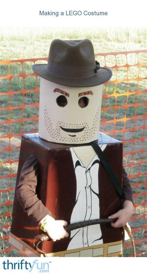 making  lego costume thriftyfun