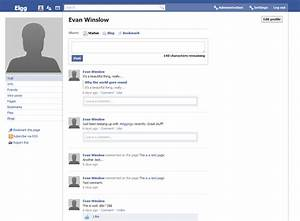 facebook page template cyberuse With mock facebook page template