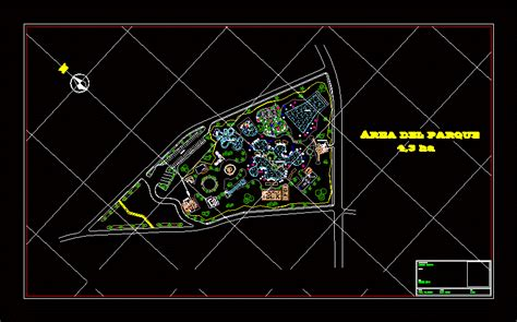water park dwg block  autocad designs cad