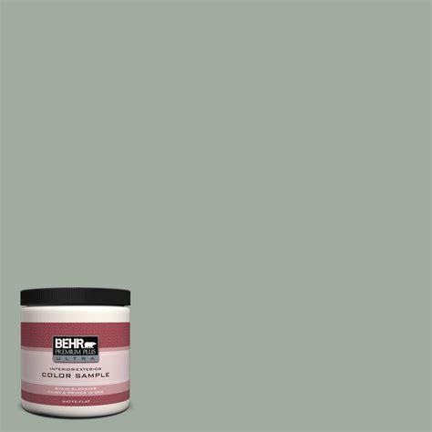 behr paint color help behr premium plus ultra 8 oz ppu11 green balsam matte interior exterior paint and primer in
