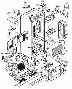 Refrigerator Parts  Lg Refrigerator Parts Diagram
