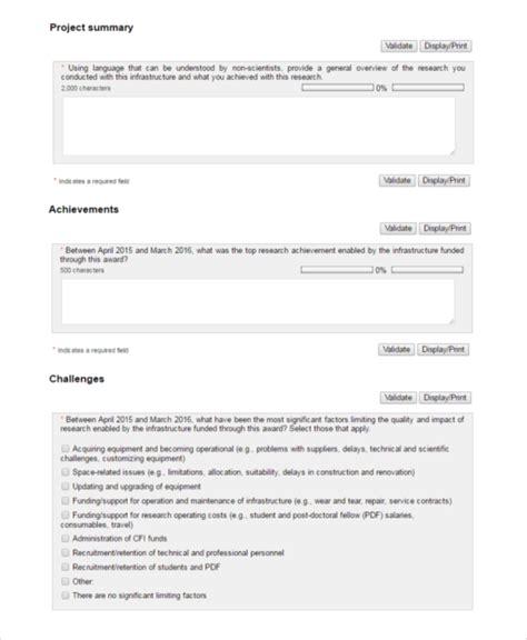 project summary template 7 project summary templates free word pdf document free premium templates