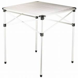 Grande Table Pliante : table pliante alu 2 personnes 30pe2pcl accessoires ~ Teatrodelosmanantiales.com Idées de Décoration