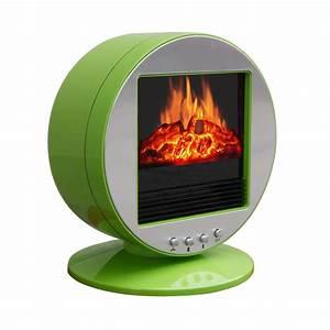 Corliving FPE-437-F Desktop Fireplace / Space Heater