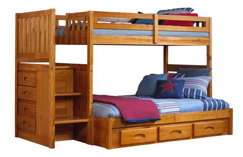bunk bed store discovery furniture honey staircase