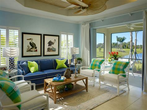 Second Home Decorating Ideas: How To Decorate A Tropical Style Living Room