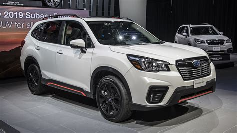 2019 Subaru Forester Sport New York 2018  Autoblog 日本版