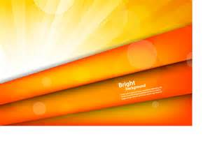 Orange Background Vector Free