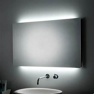 mille et une idees pour choisir le meilleur miroir lumineux With miroir moderne salle de bain