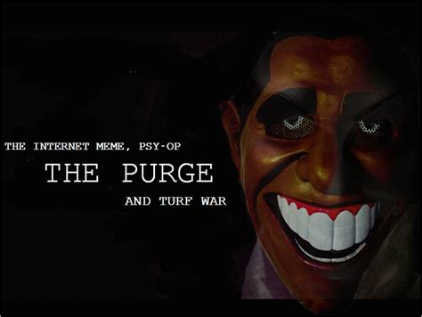 Purge Meme - the purge the internet meme psy op and turf war ground zero with clyde lewis