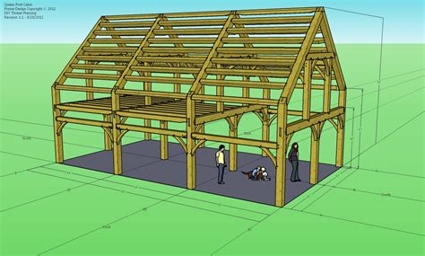 Do It Yourself Timber Frame Plans How To Build Diy