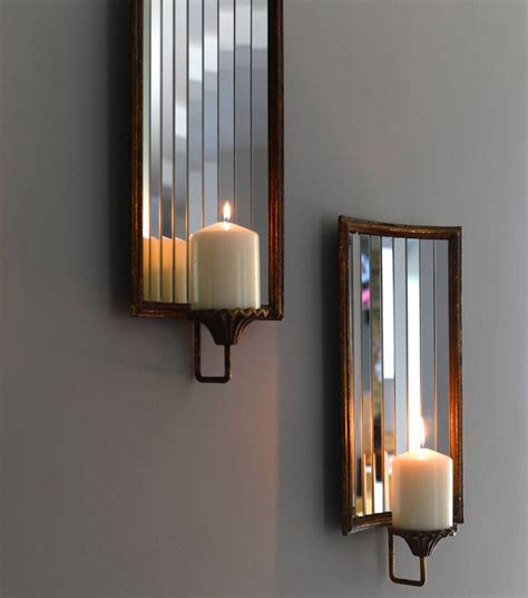 wall candle holder venetian wall candle holder by the forest co
