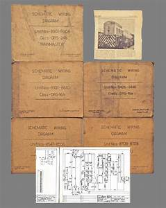 Collection Of Five Locomotive Schematic Wiring Diagrams