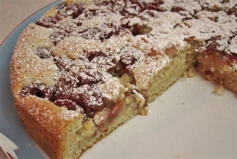 the vegan chronicle cherry almond cake