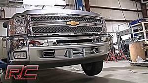 Rough Country Chevy Silverado Hidden Winch Mounting Plate