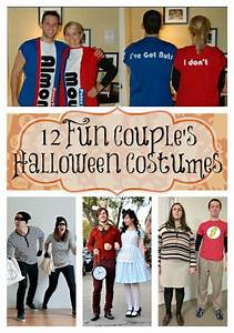 12 Fun Couples Halloween Costume Ideas | Almond joy ...