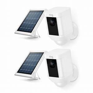 Ring Spotlight Cam Solar Outdoor Security Wireless ...
