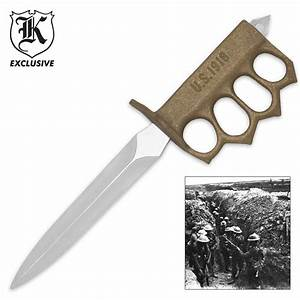 1918 WWI Trench Knife Replica BUDK com - Knives & Swords