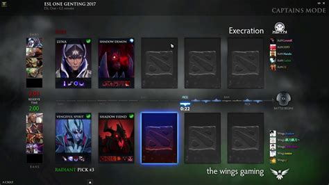 wings  execration esl  genting  group  game