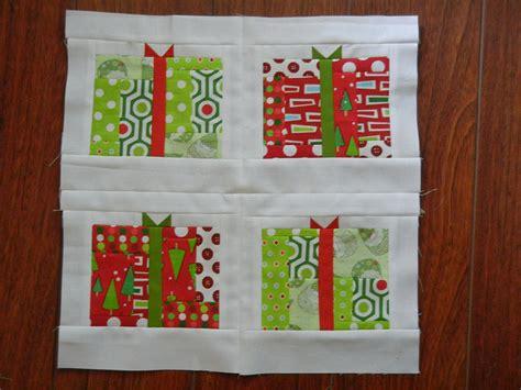 12 days of christmas block 5 presents sew sweetness
