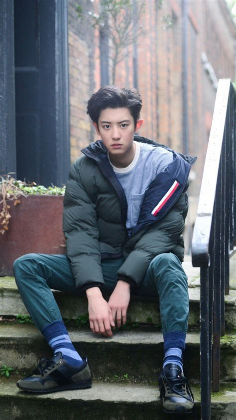 exos chanyeol fashion styles   solo single