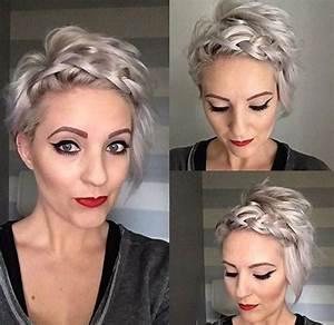 Tresse Cheveux Courts : coiffures de mariage pour les cheveux courts le cahier ~ Melissatoandfro.com Idées de Décoration