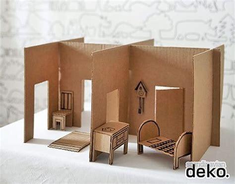 ways    cardboard dollhouse homemade furniture