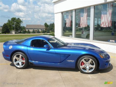 Dodge Viper Blue by Viper Gts Blue 2006 Dodge Viper Srt 10 Coupe Exterior