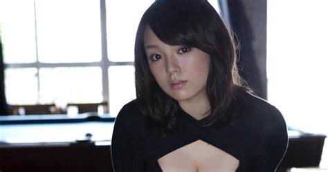 Ai Shinozaki Sexy Black Bikini