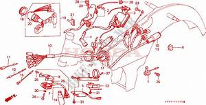 Wire Harness  1  For Honda Ct 110 Trail Mk 1986   Honda