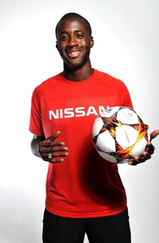 Yaya Touré is the New Global Ambassador for Nissan ...